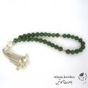 تسبیح 33 مهره سنگ جید سلطنتی Royal jade